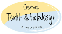 Creatives Textil-   Holzdesign